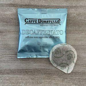 DECAFFEINATED coffee pods